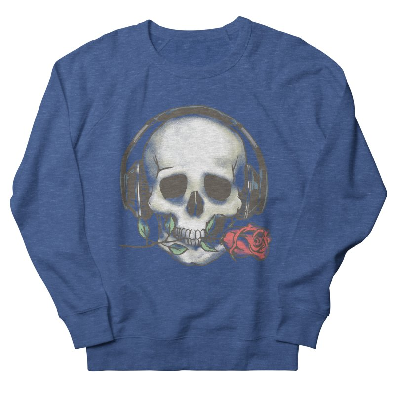 Musical Muse Men's French Terry Sweatshirt by JQBX Store - Listen Together