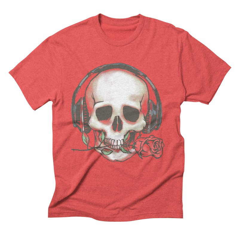 Musical Muse Men's Triblend T-Shirt by JQBX Store - Listen Together