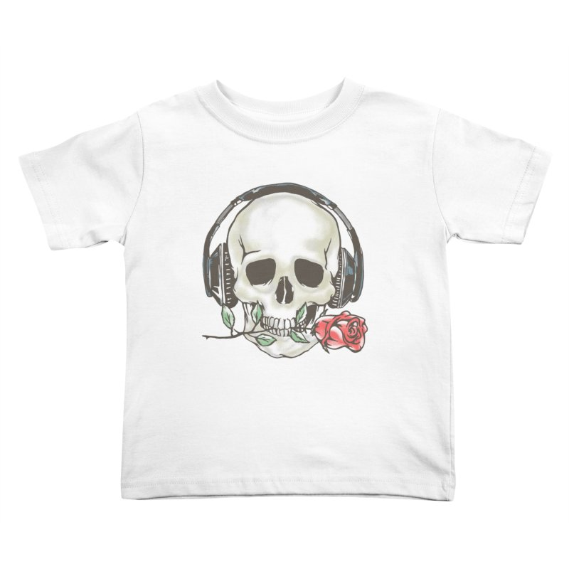 Musical Muse Kids Toddler T-Shirt by JQBX Store - Listen Together