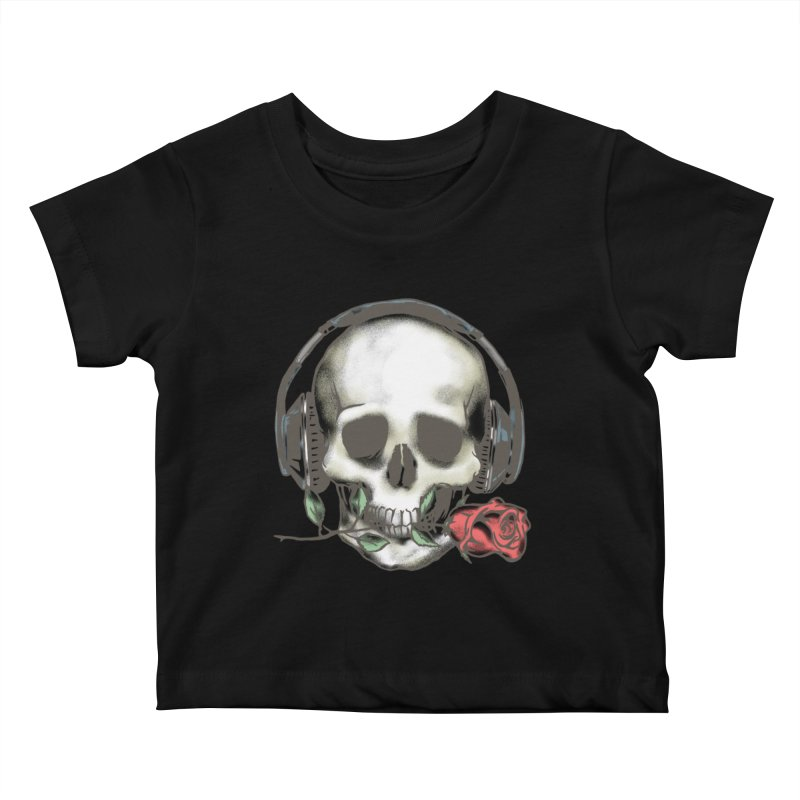 Musical Muse Kids Baby T-Shirt by JQBX Store - Listen Together