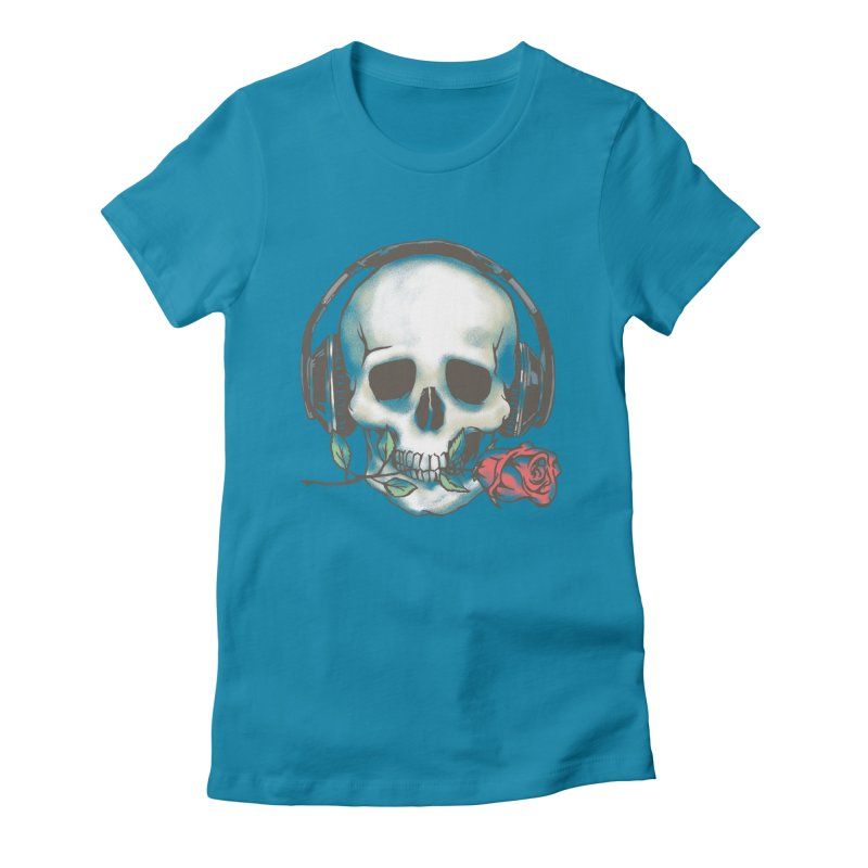 Musical Muse Women's T-Shirt by JQBX Store - Listen Together