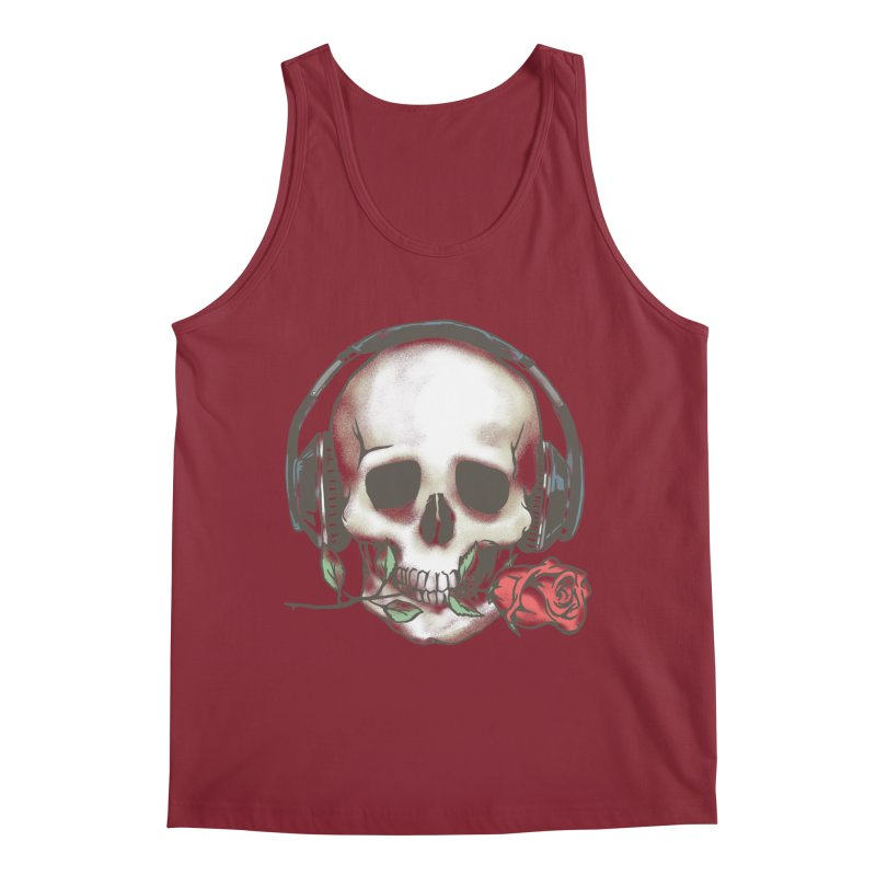 Musical Muse Men's Tank by JQBX Store - Listen Together