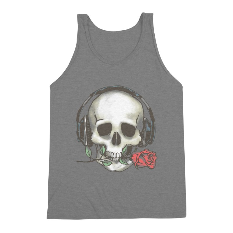 Musical Muse Men's Triblend Tank by JQBX Store - Listen Together