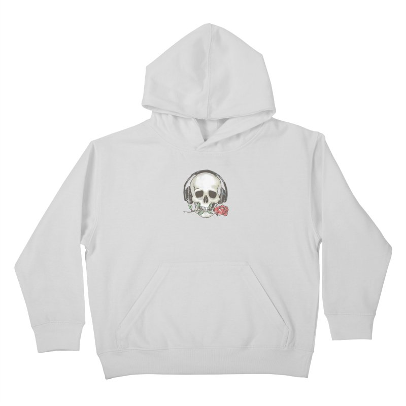 Musical Muse Kids Pullover Hoody by JQBX Store - Listen Together