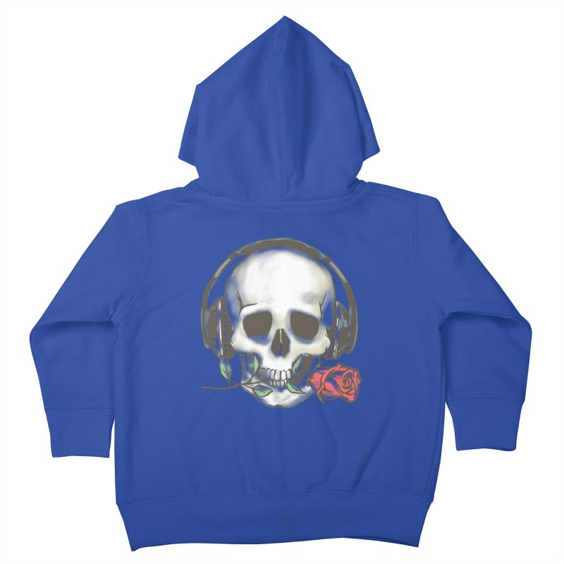 Musical Muse Kids Toddler Zip-Up Hoody by JQBX Store - Listen Together