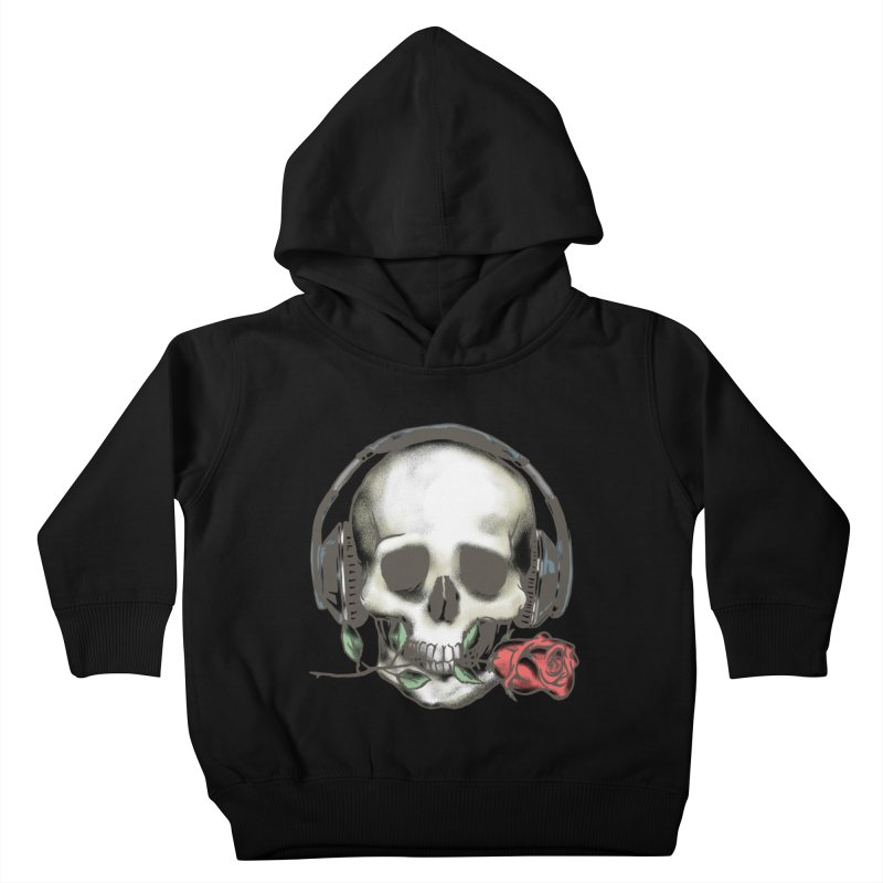Musical Muse Kids Toddler Pullover Hoody by JQBX Store - Listen Together