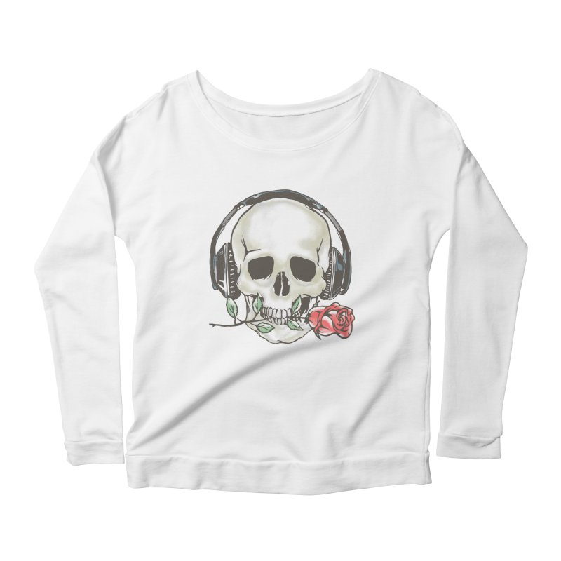 Musical Muse Women's Longsleeve T-Shirt by JQBX Store - Listen Together