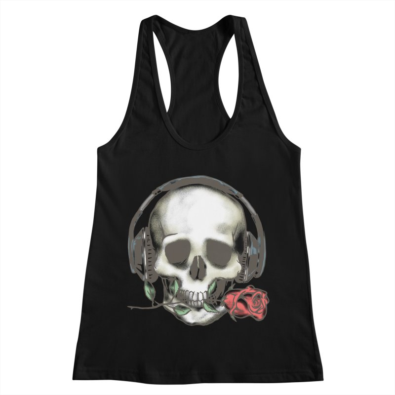 Musical Muse Women's Racerback Tank by JQBX Store - Listen Together