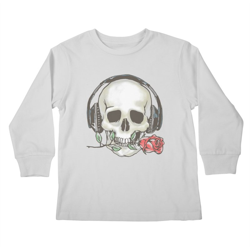 Musical Muse Kids Longsleeve T-Shirt by JQBX Store - Listen Together