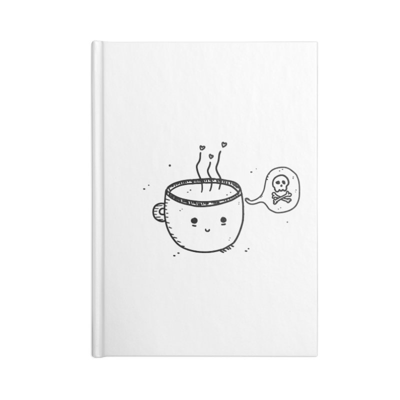 Cup o' Jo Accessories Lined Journal Notebook by Shirt Folk