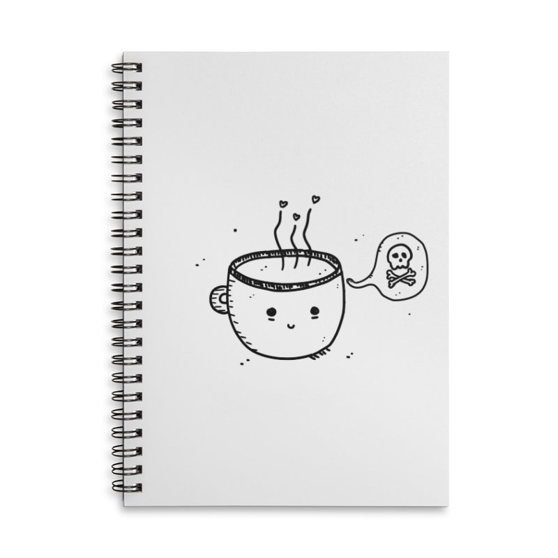 Cup o' Jo Accessories Lined Spiral Notebook by Shirt Folk