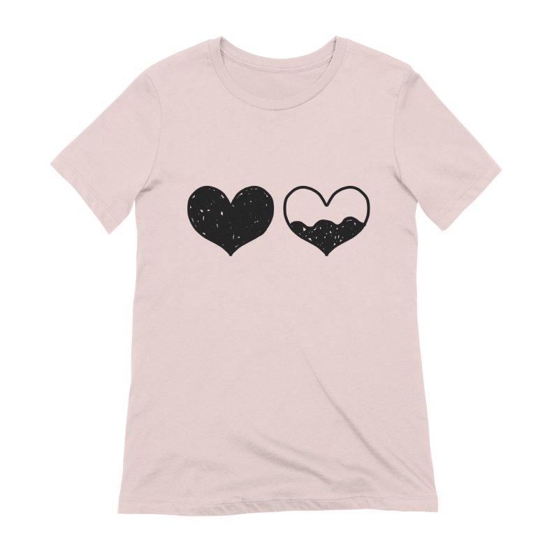 Overflow Women's Extra Soft T-Shirt by Shirt Folk
