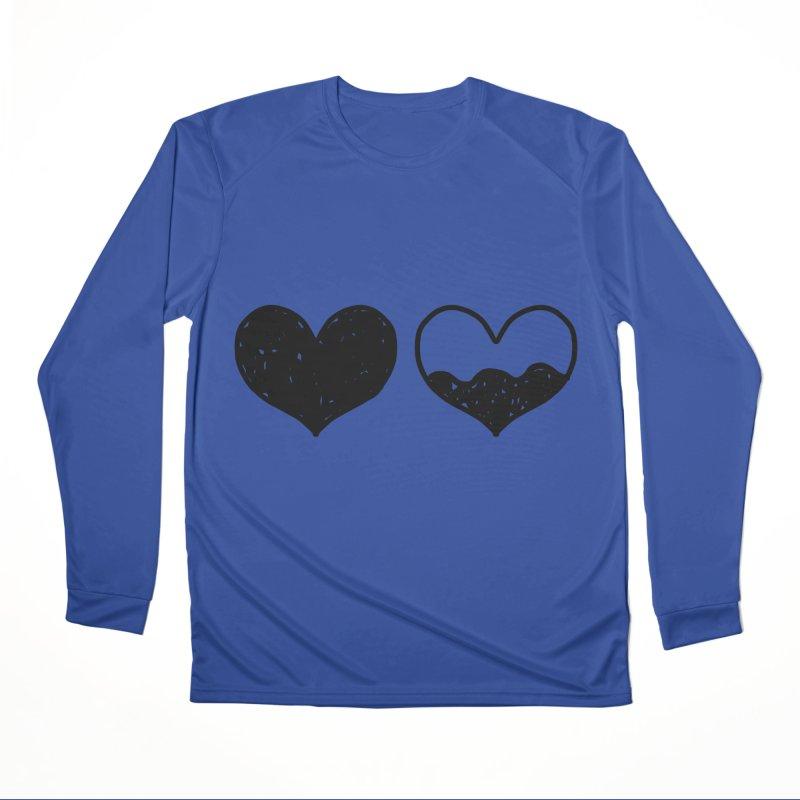 Overflow Men's Performance Longsleeve T-Shirt by Shirt Folk