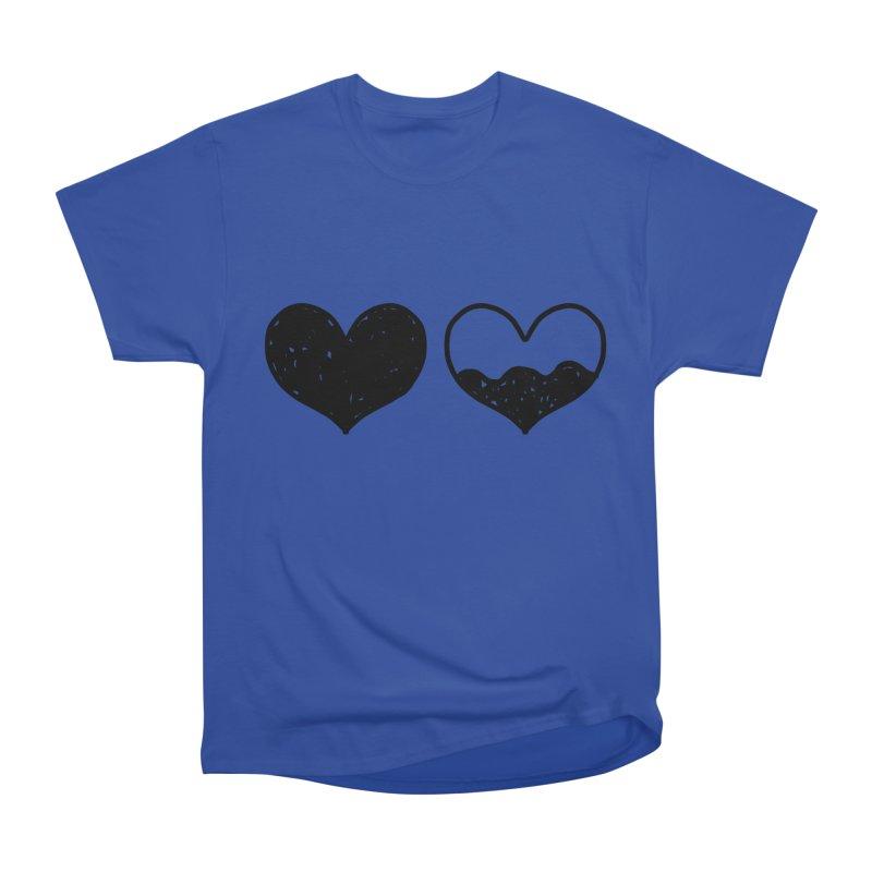 Overflow Men's Heavyweight T-Shirt by Shirt Folk