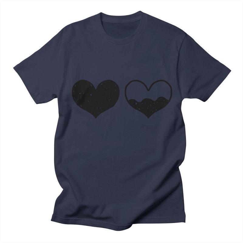 Overflow Men's Regular T-Shirt by Shirt Folk