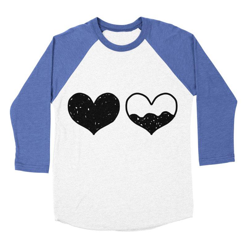 Overflow Women's Baseball Triblend Longsleeve T-Shirt by Shirt Folk
