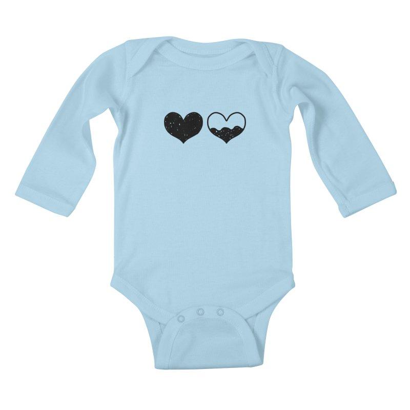 Overflow Kids Baby Longsleeve Bodysuit by Shirt Folk