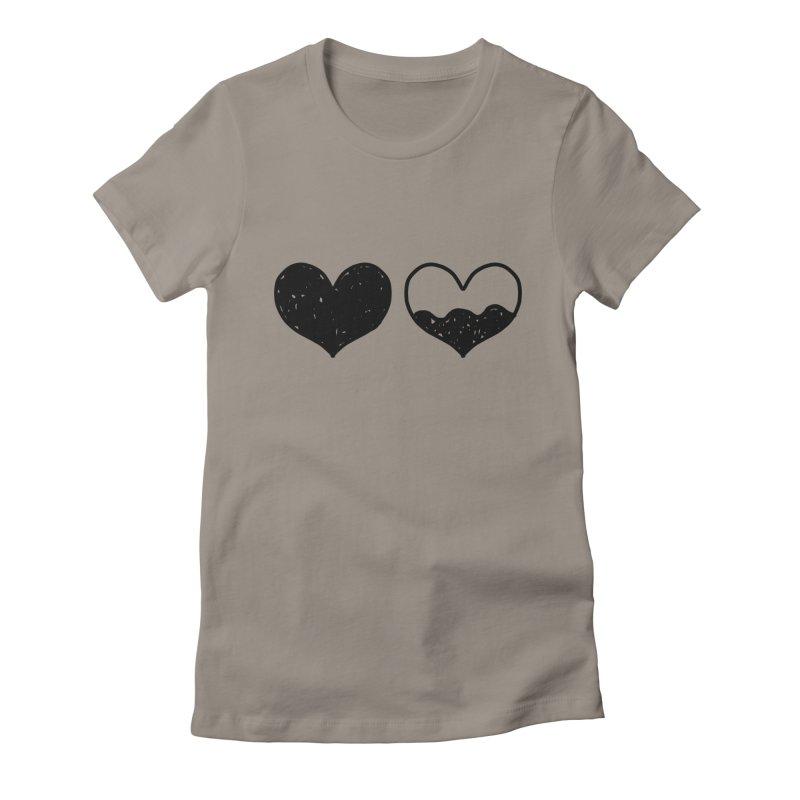 Overflow Women's Fitted T-Shirt by Shirt Folk