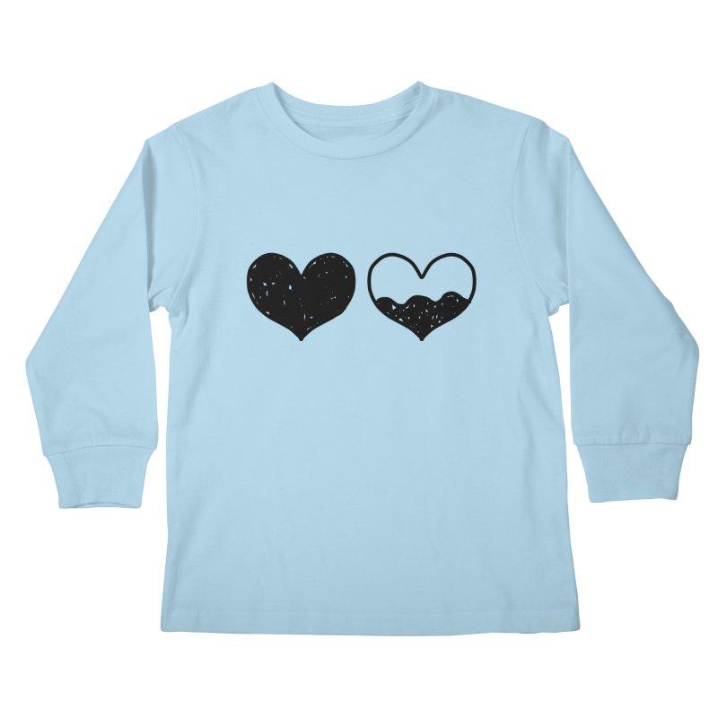 Overflow Kids Longsleeve T-Shirt by Shirt Folk