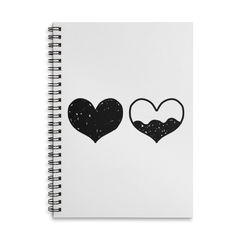 Overflow Accessories Lined Spiral Notebook by Shirt Folk