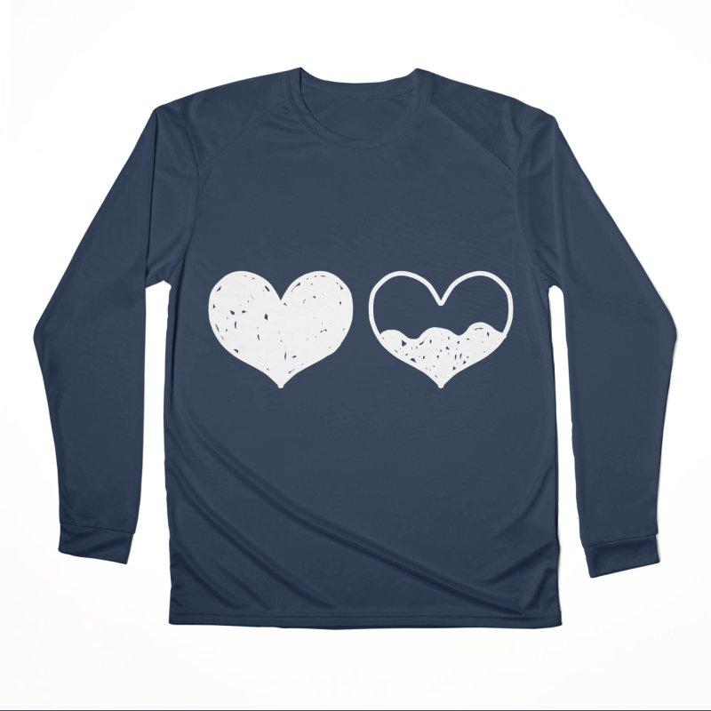 Overflow: Lights Out Edition Men's Performance Longsleeve T-Shirt by Shirt Folk