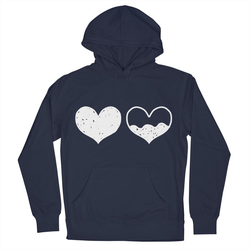 Overflow: Lights Out Edition Men's French Terry Pullover Hoody by Shirt Folk