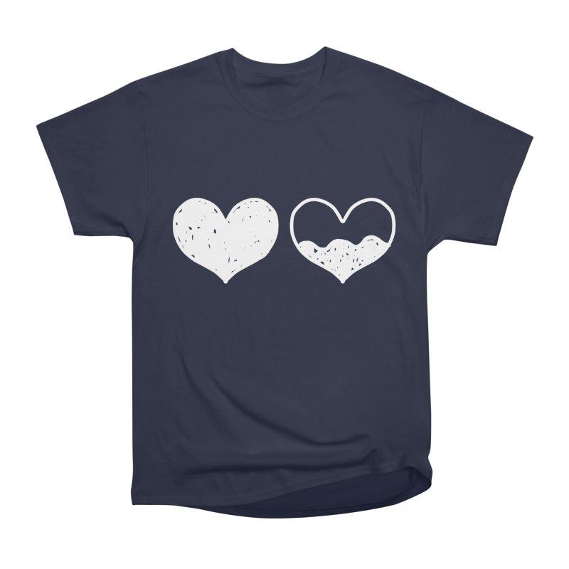 Overflow: Lights Out Edition Men's Heavyweight T-Shirt by Shirt Folk