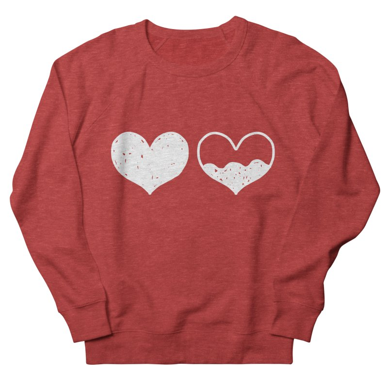 Overflow: Lights Out Edition Women's French Terry Sweatshirt by Shirt Folk