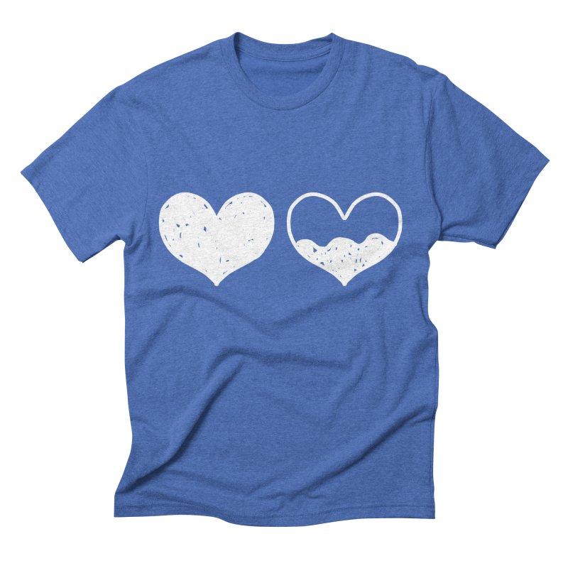 Overflow: Lights Out Edition Men's Triblend T-Shirt by Shirt Folk
