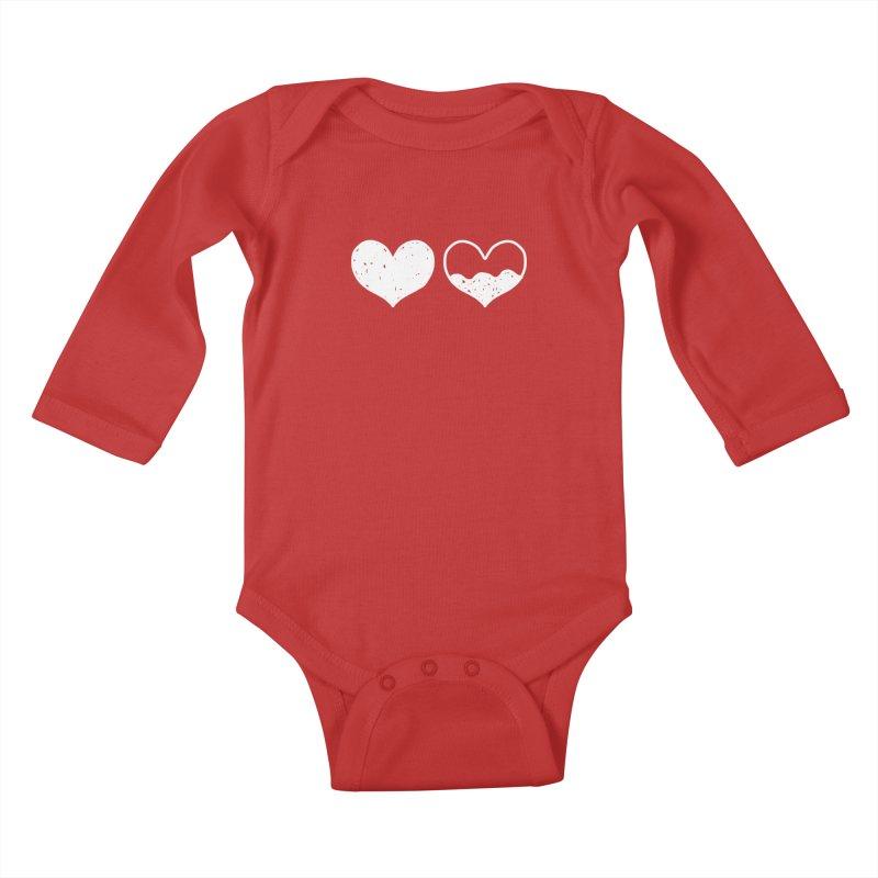 Overflow: Lights Out Edition Kids Baby Longsleeve Bodysuit by Shirt Folk
