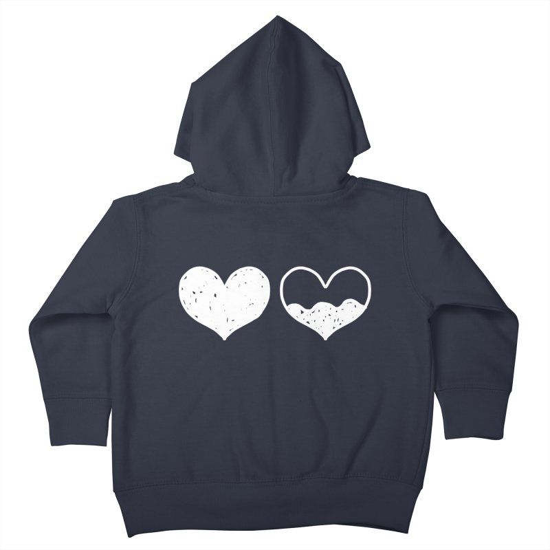 Overflow: Lights Out Edition Kids Toddler Zip-Up Hoody by Shirt Folk