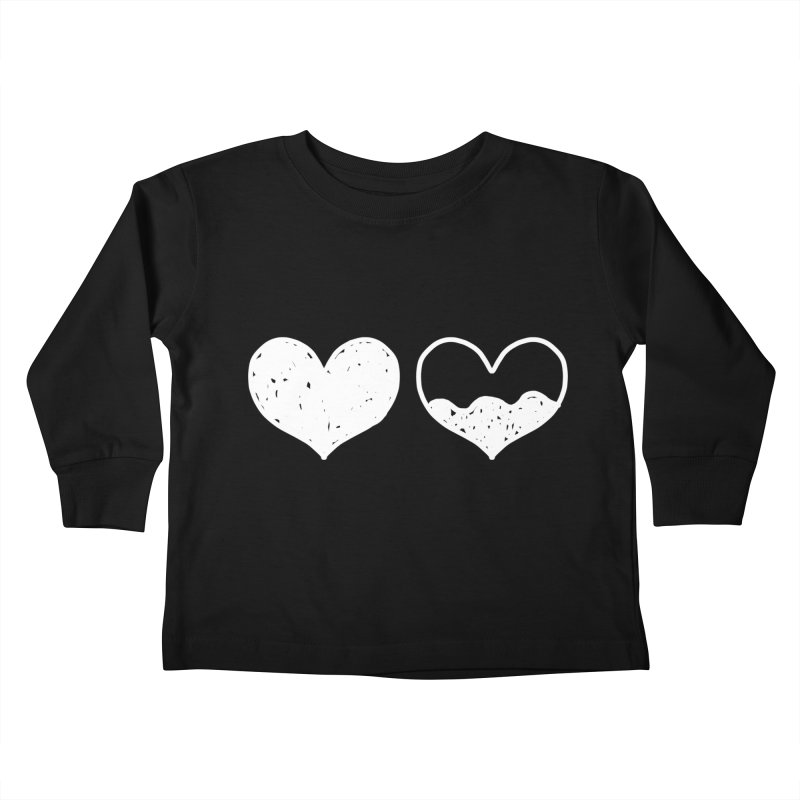 Overflow: Lights Out Edition Kids Toddler Longsleeve T-Shirt by Shirt Folk