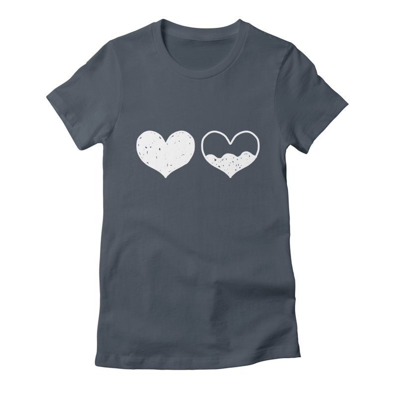 Overflow: Lights Out Edition Women's Fitted T-Shirt by Shirt Folk