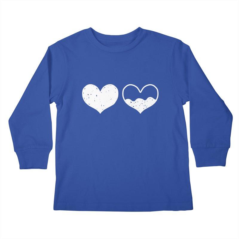 Overflow: Lights Out Edition Kids Longsleeve T-Shirt by Shirt Folk