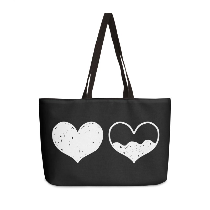 Overflow: Lights Out Edition Accessories Weekender Bag Bag by Shirt Folk