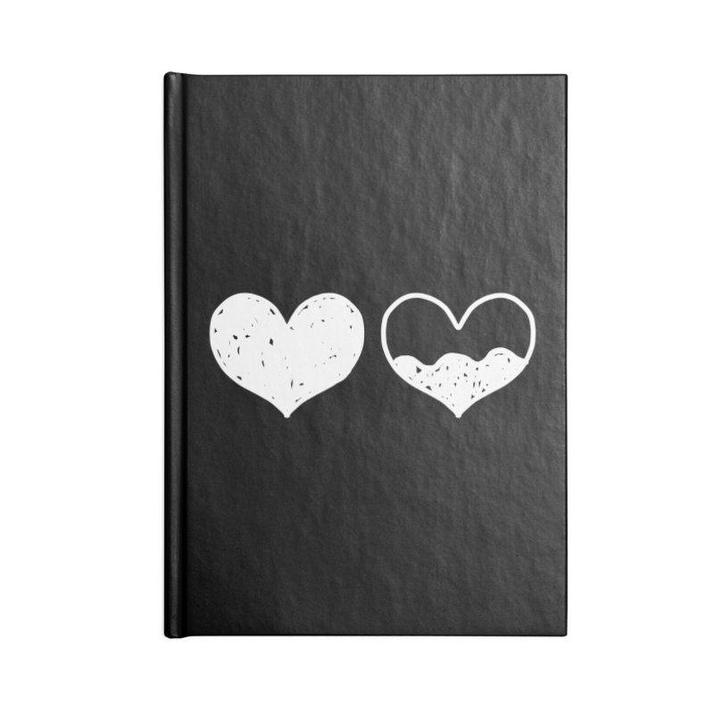 Overflow: Lights Out Edition Accessories Lined Journal Notebook by Shirt Folk