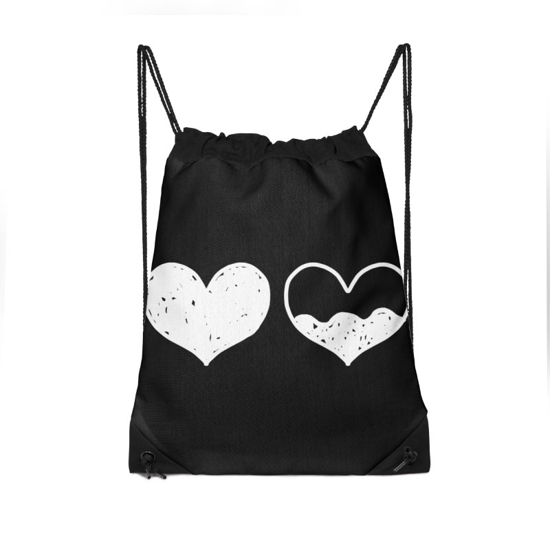 Overflow: Lights Out Edition Accessories Drawstring Bag Bag by Shirt Folk