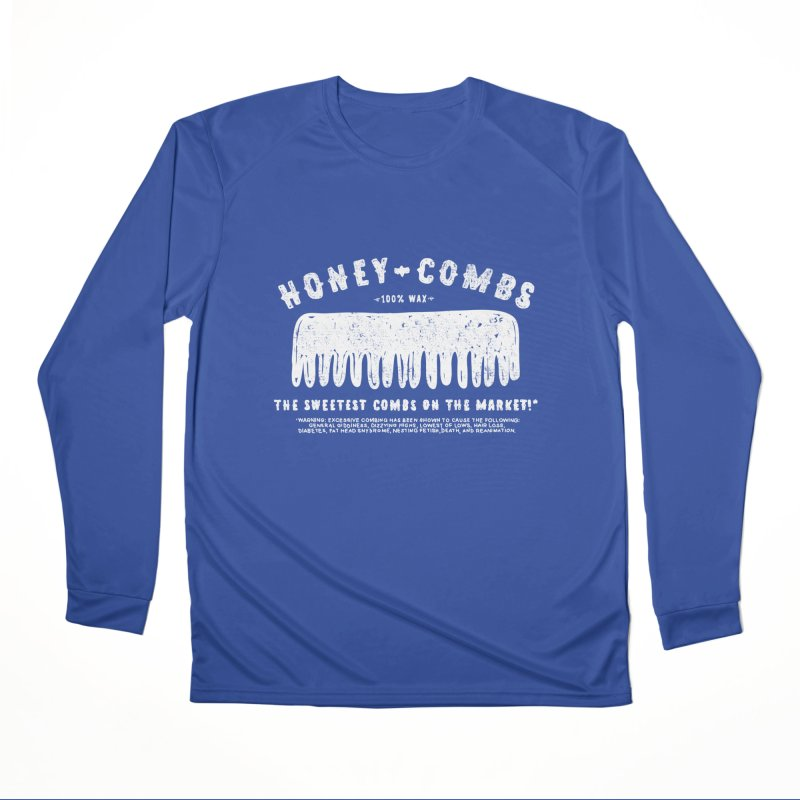 Honey-Combs : Lights Out Edition Men's Performance Longsleeve T-Shirt by Shirt Folk