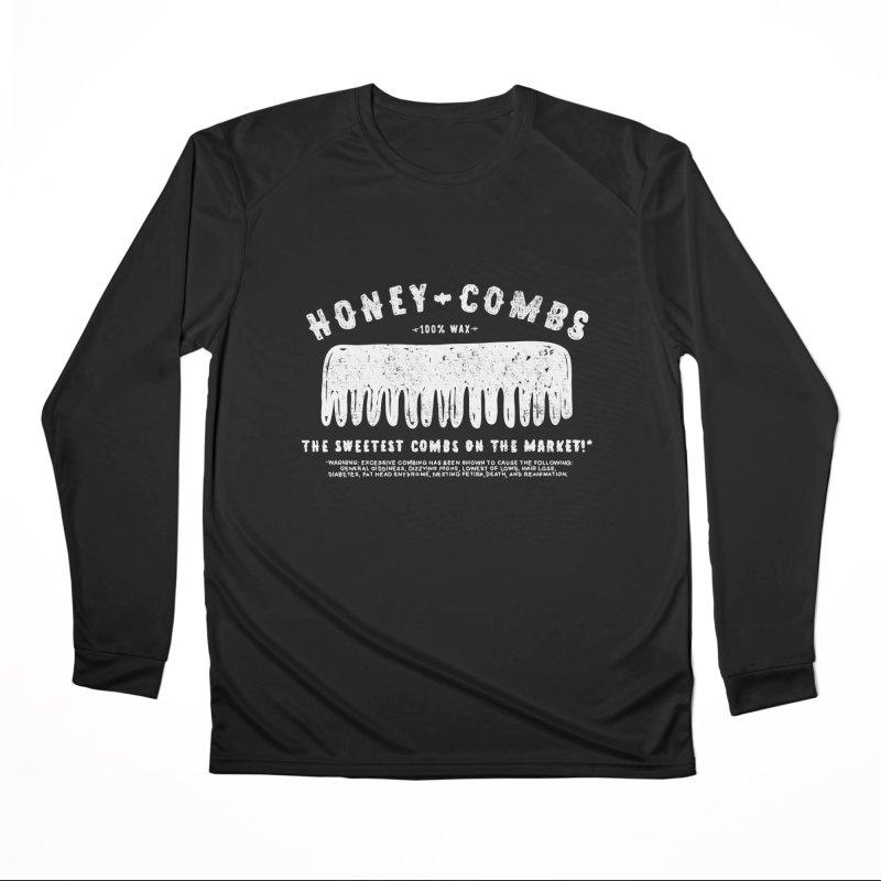 Honey-Combs : Lights Out Edition Women's Performance Unisex Longsleeve T-Shirt by Shirt Folk