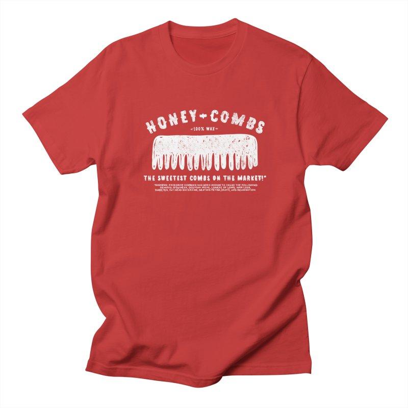 Honey-Combs : Lights Out Edition Men's Regular T-Shirt by Shirt Folk
