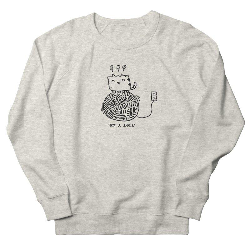On a Roll Women's French Terry Sweatshirt by Shirt Folk