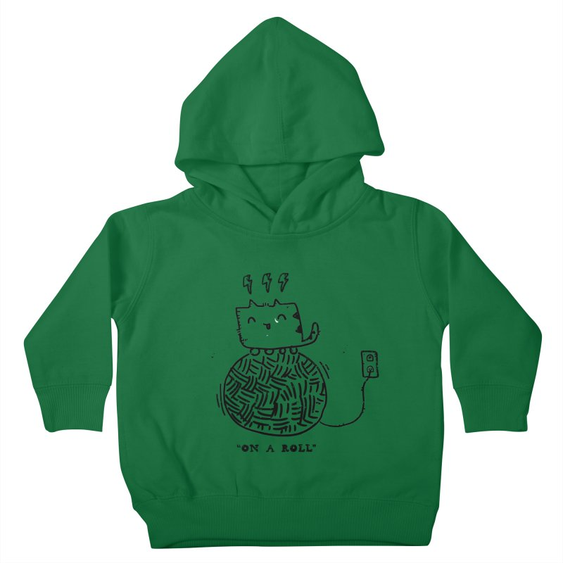 On a Roll Kids Toddler Pullover Hoody by Shirt Folk