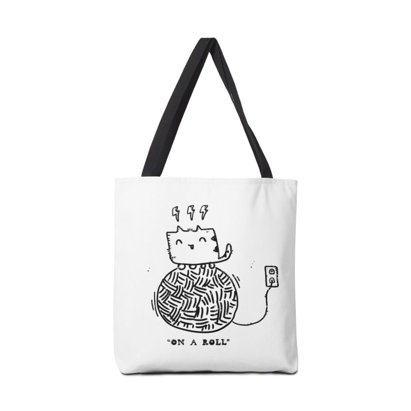 On a Roll Accessories Tote Bag Bag by Shirt Folk