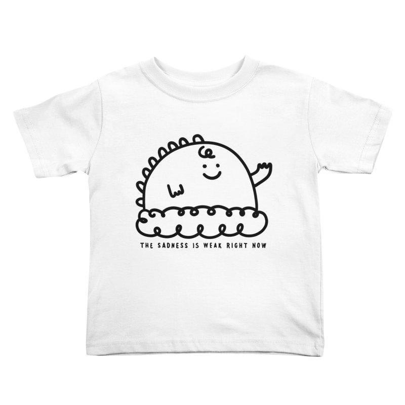 The Sadness Kids Toddler T-Shirt by Shirt Folk