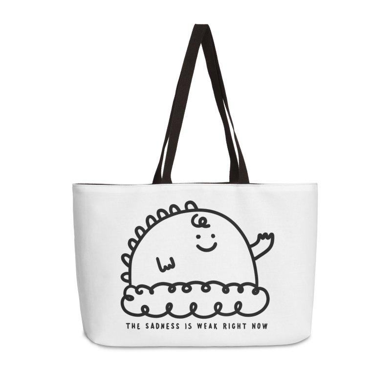 The Sadness Accessories Weekender Bag Bag by Shirt Folk