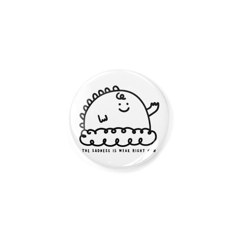 The Sadness Accessories Button by Shirt Folk
