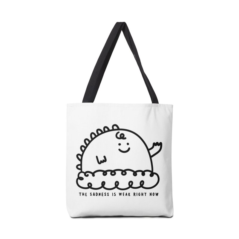 The Sadness Accessories Tote Bag Bag by Shirt Folk