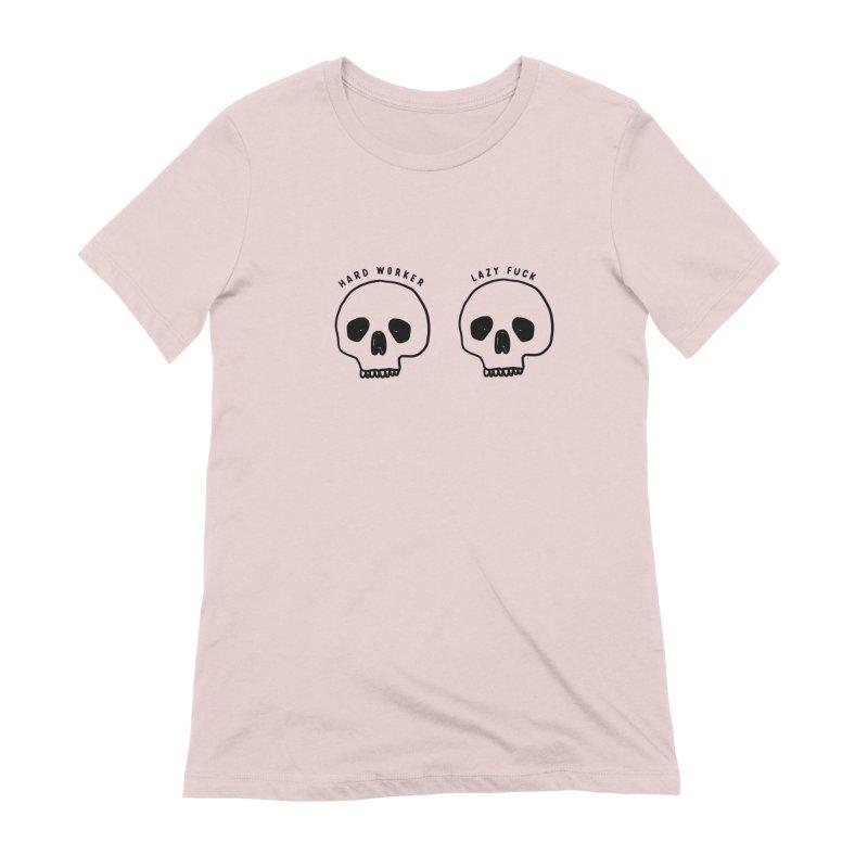 Hard Work Pays Off Women's Extra Soft T-Shirt by Shirt Folk