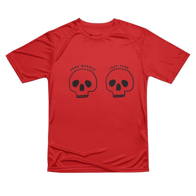 Hard Work Pays Off Men's Performance T-Shirt by Shirt Folk