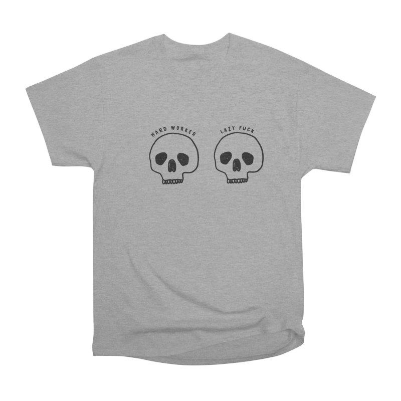 Hard Work Pays Off Men's Heavyweight T-Shirt by Shirt Folk